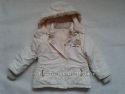 Куртка зимняя для девочки на рост 98-104см