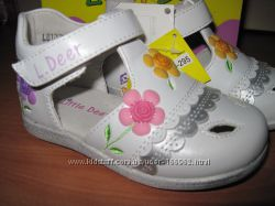 Туфли  для  девочек BG в наличии