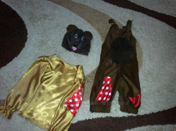 Суперский костюм мишки