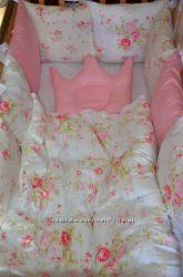 Бортики, постелька в кроватку