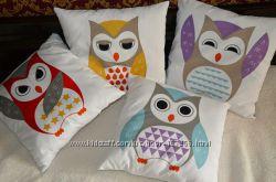 Декоративные подушки ручной работы
