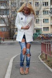 Стильный пиджак Chanel ВеснаНовинка