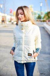 Куртка весенняя женская с рукавом три четверти.