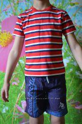 Фирменные футболки для модного парня 5 - 6 лет.