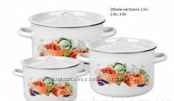 набор посуды Урожай