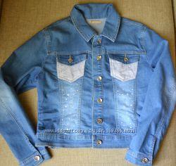 курточка джинсовая farfallina размер M L