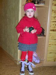 красная куртка Майорал