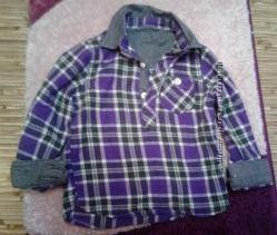 стильная рубашка из Италии EMPORIO JUNIOR