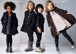 Элегантное шерстяное пальто на осень для модняшки с заниженной талией от TU