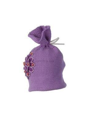 Теплая стильная шапка Obermeyer Paper Bag Knit Hat Toddler Girls