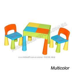 Детский столик и стульчики Tega Mamut. Расцветки в ассортименте.