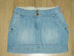 Юбочка джинсовая C&A 140 размера.