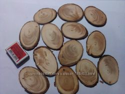 Срезы дерева для рукоделия и декора