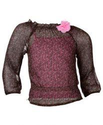 Нарядный комплект, блуза с майкой, Германия, размер 92