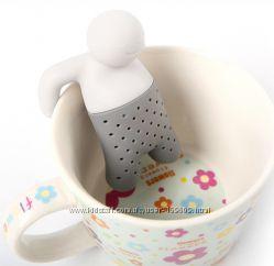 Заварник для чая силиконовый Человечек.