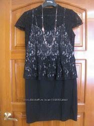 Платье-Футляр от Rainbow черного цвета. Вискоза. р. 48-50. Новое.