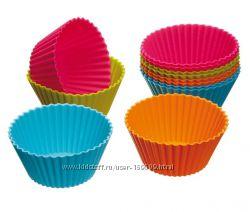 Форма силиконовая для выпечки кексов, маффинов, пасочек и пр. Можно замораж