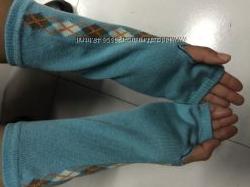 стильные высокие перчатки без пальчиков
