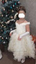 Праздничное, бальное платье