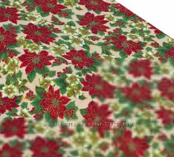 Рождественские ткани для рукоделия из Германии.