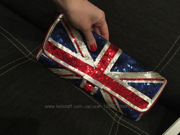 Клатч в британском стиле, фирма Accessorize