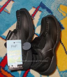 кожаные ботинки F&F