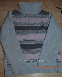 Модный свитерок на 4-5 лет