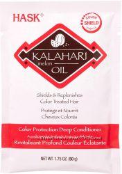 Маска-кондиционер для окрашенных, поврежденных волос Hask с маслом калахари