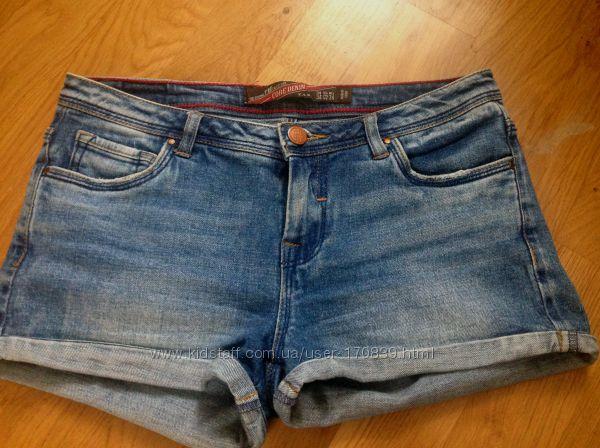 Шорти джинсовие Zara 34 р.