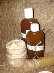 Натуральный домашний шампунь на травах и мыльных орехах