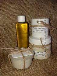 Натуральный крем для лица ручной работы с маслом норки.