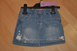 Юбочки на модниц и джинсовый сарафан 2в1, от F&F