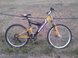 велосипед пр-ва Польши горный двухподвес