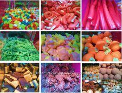 Желейки, леденцы, мармелад, конфетки Тоффи, лакричные, маршмеллоу