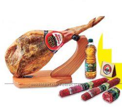 Хамон в подарок колбасы, сыр, оливковое масло - Выгодная покупка