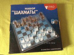 Набор  рюмок Шахматы