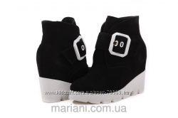 Кожаная обувь ТМ Mariani-модная и качественная-на все сезоны-очень дешево