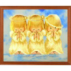 Рисунок-схема на ткани для вышивки Почти идеальный, Ангелы