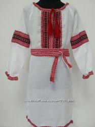 красивые фабричные платья-вышиванки   с ткаными вставками.