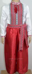 украинские  шаровары  красные и синие