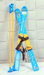 Лыжи с палками детские Технок 3350
