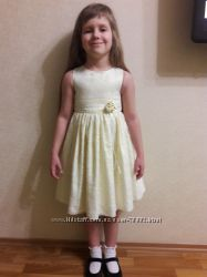 Нарядное платье 4-5-6 лет