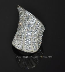 Серебряное кольцо Италия