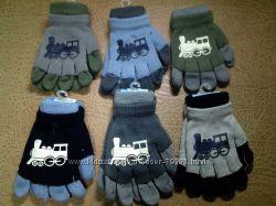 Перчатки 2в1 для девочек и мальчиков