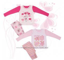 Пижама для девочки мод. 245 Фламинго-текстиль р. 98-116