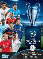 Лига Чемпионов наклейки 2015-16