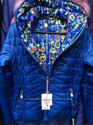 Демисезонные двухсторонние стеганые курточки