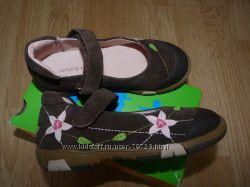 Кожаные туфли  Jumping jacks для девочки размер 30