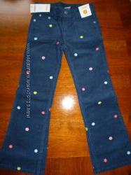 Вельветовые брючки GYMBOREE для девочки размер 7 лет