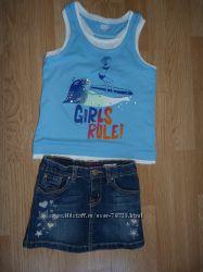 Летняя одежда для девочки 4 лет